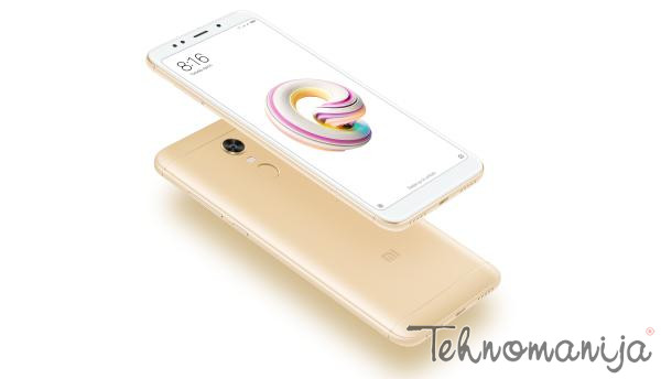 XIAOMI Smart telefon Redmi 5 Plus, 3 GB, 32 GB, 12 Mpix, Zlatni