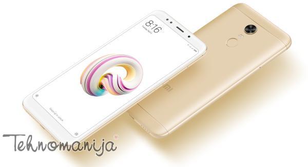 XIAOMI Smart telefon REDMI 5 PLUS 4/64 GD, 4 GB, 12 Mpix, Zlatni