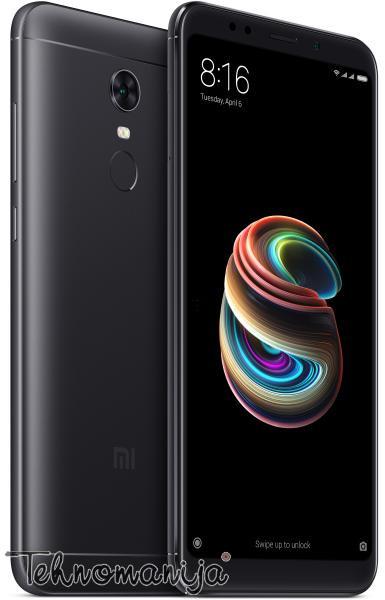 XIAOMI Smart telefon Redmi 5 Plus, 4 GB, 12 Mpix, Crni