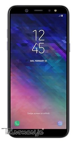 SAMSUNG Smart premium telefon A6 GRAY SM-A600FZVNSEE