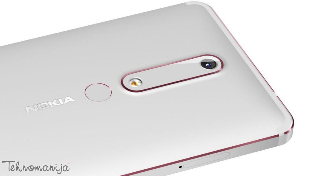 "NOKIA Mobilni telefon 6.1 DS BK COPP 5.5"", 3GB, 16 Mpix"