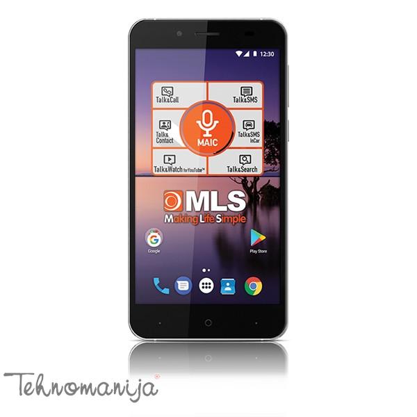 "MLS Mobilni telefon COLOR FINGERPRINT 4G BK, 5.5"", 2GB, 13 Mpix"