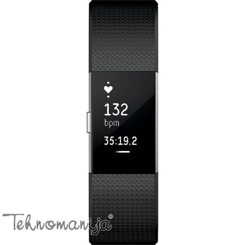 FITBIT Smart sat Charge 2 FB407SBKL BLACK