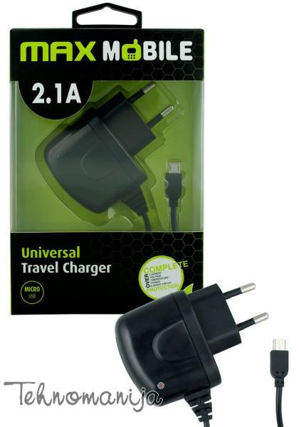 MAX MOBILE Punjač za mobilni telefon TR013 M USB 2.1A B
