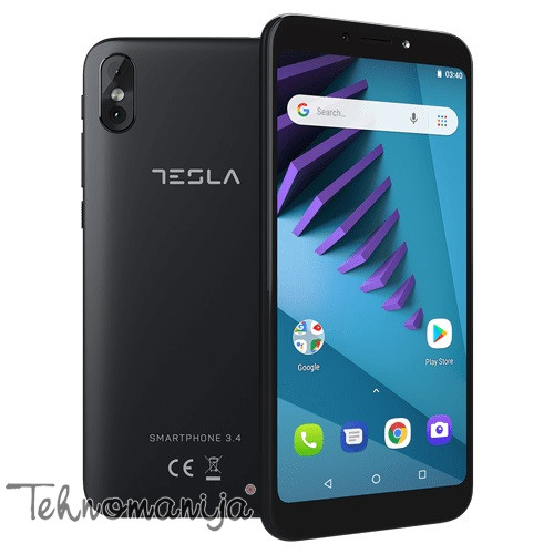 Tesla Smartphone 3.4 - Crni