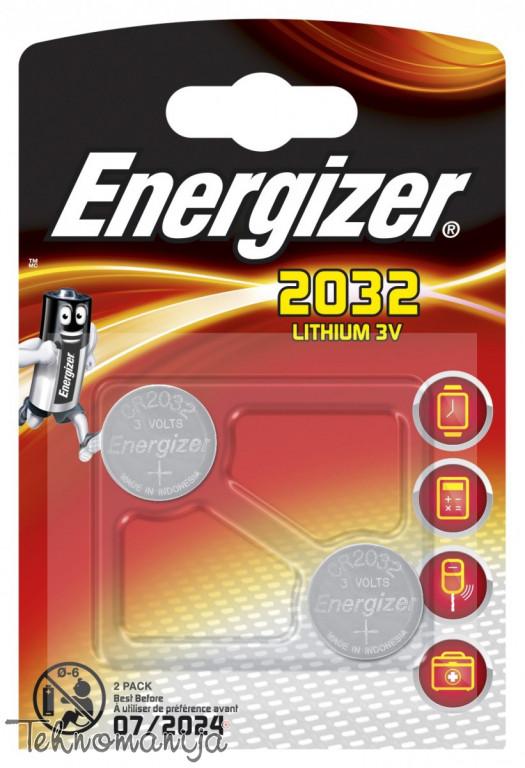 ENERGIZER Baterija LITIJUM CR2032 BL.2