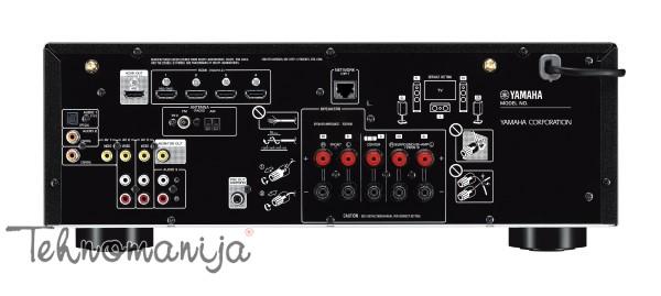 YAMAHA AV Risiver RX-V485, Crni