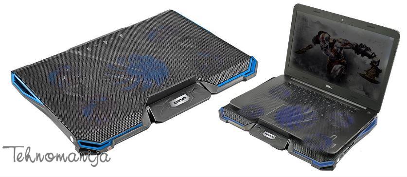 PROMATE Postolje za laptop AIRBASE-2.BLACK