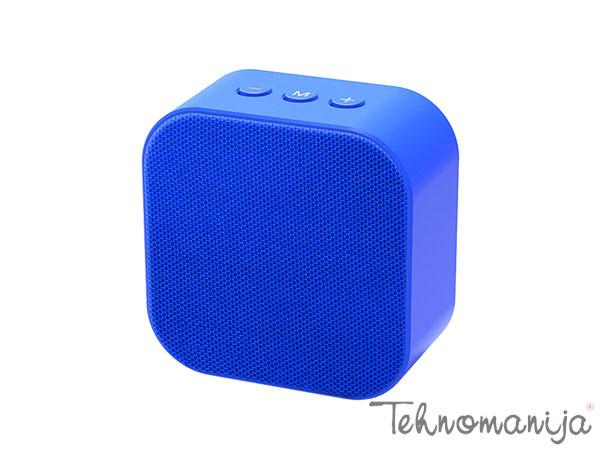 X WAVE Bežični zvučnik B SQUARE BLUE