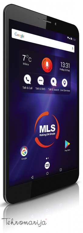 """MLS Tablet MLS NOVEL 3G - IQ1810B 8"""", 1 GB, 16 GB"""