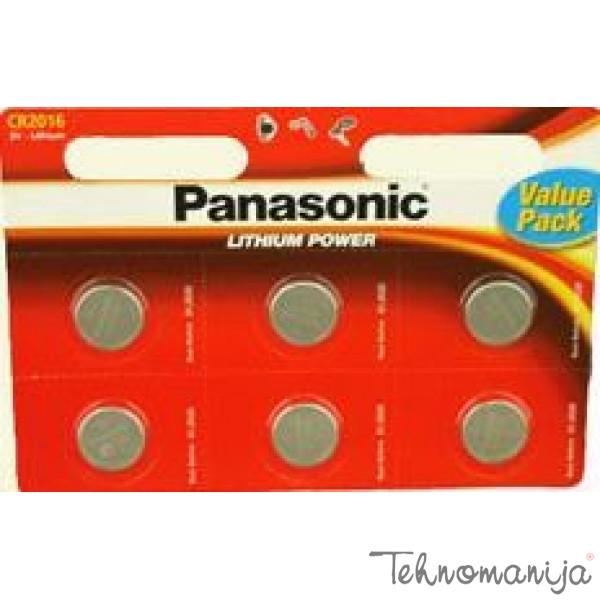 PANASONIC Baterije CR-2016 L/6BP