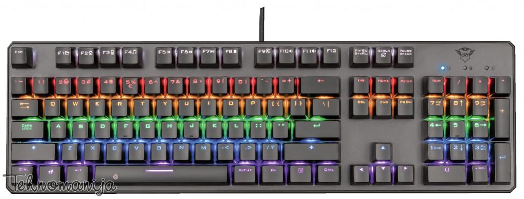 TRUST Mehanička tastatura ASTA GXT 865