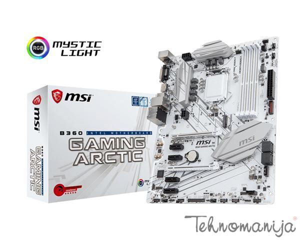 MSI Matična ploča B360 GAMING ARCTIC