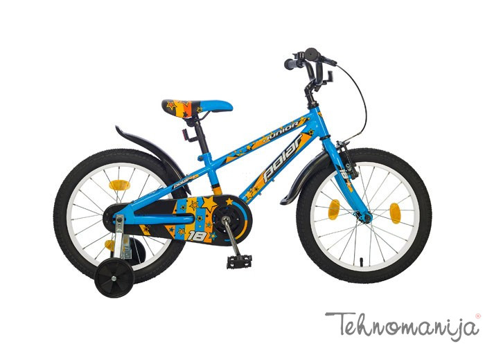 "POLAR Bicikl Junior boy 18"" - Plavi"