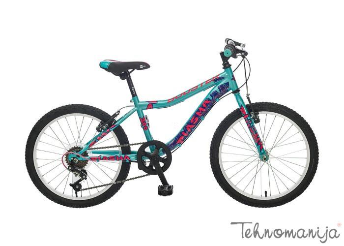 BOOSTER Bicikl Plasma 200 - Tirkizni