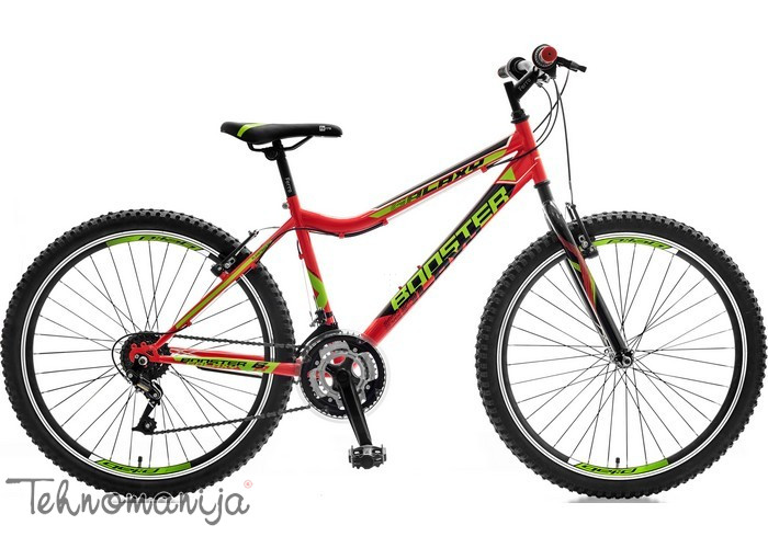 BOOSTER Bicikl Galaxy - Crveni