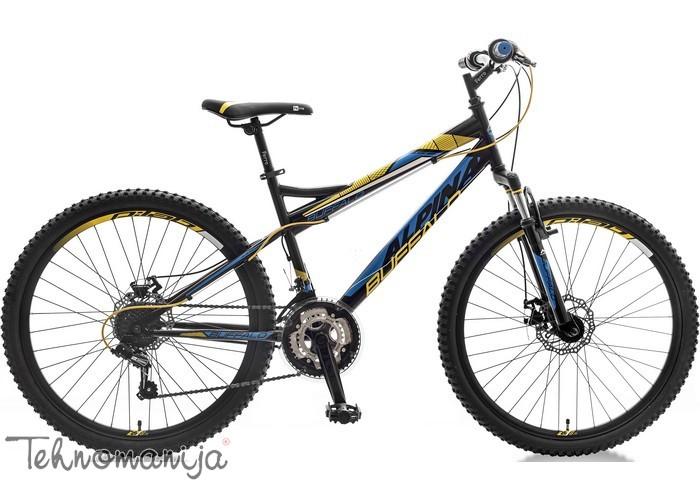 ALPINA Bicikl Buffalo FS Disk - Crno-žuto-plavi