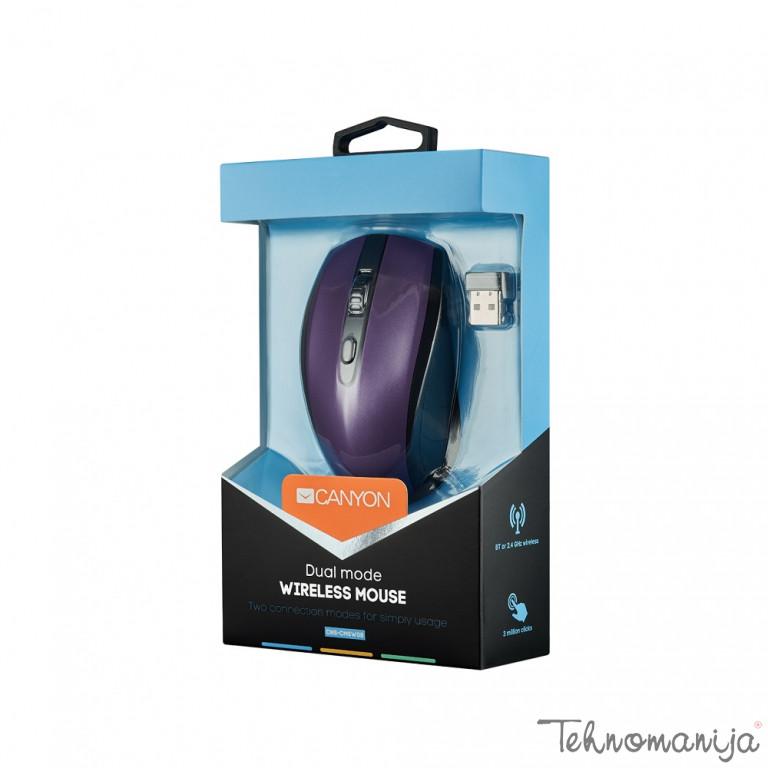 Canyon Bežični miš CMSW08 - Ljubičasti