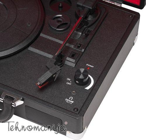 DENVER Gramofon VPL-118 - Crni