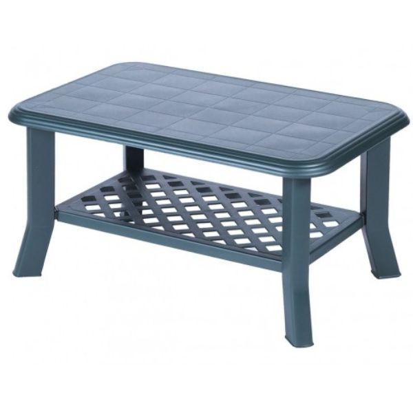 AGROMARKET Plastični baštenski sto NISO ZELENI