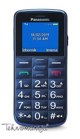 PANASONIC Mobilni telefon - Plavi