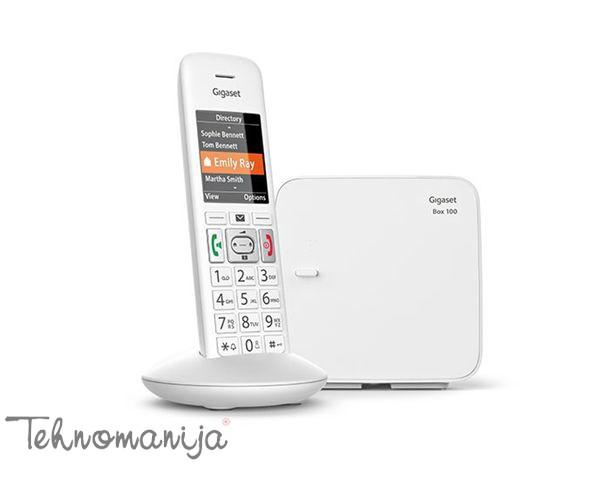 Gigaset Bežični telefon E370 - Beli