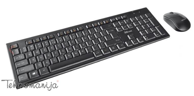 Trust Bežični tastatura i miš Nola