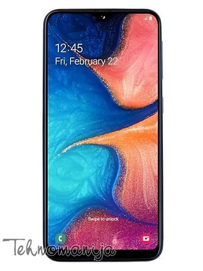 SAMSUNG Galaxy A20e (Dual SIM) - Plavi