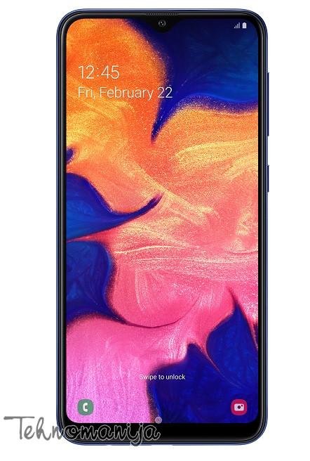 SAMSUNG Galaxy A10 (Dual SIM) - Plavi