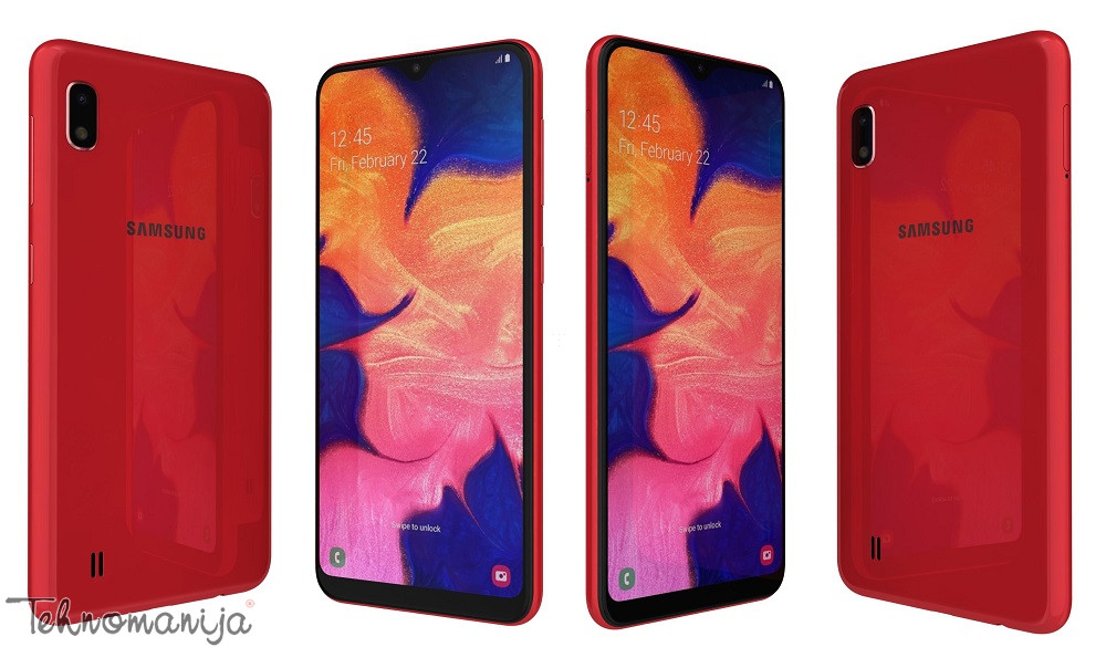 Samsung Galaxy A10 (Dual SIM) - Crveni