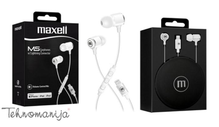 Maxell Slušalice za Apple - Bele