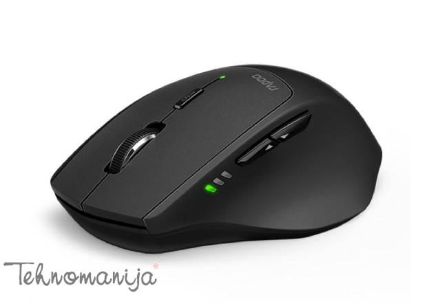 Rapoo Wireless miš MT550 - Crni