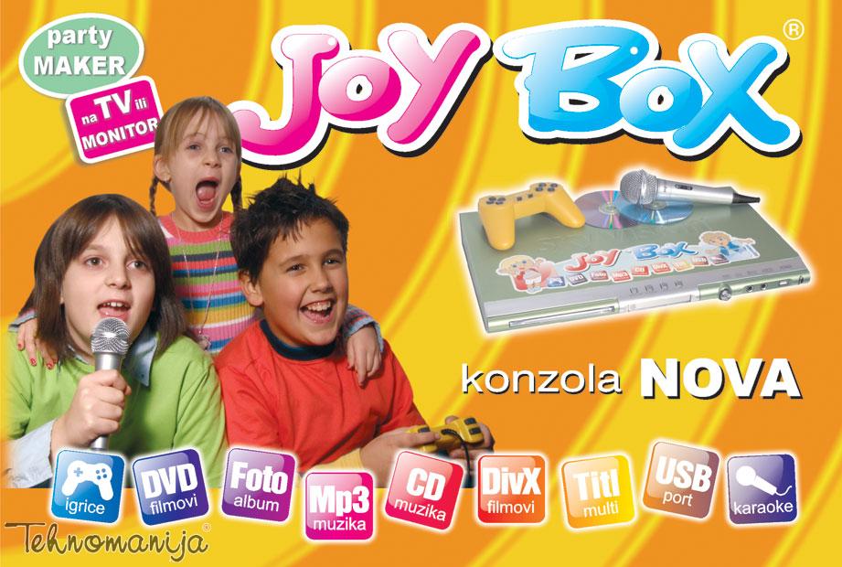 Sky Vision - Digital Multi plejer (konzola) JOYBOX