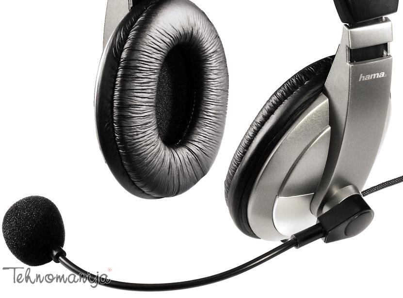 Hama slušalice sa mikrofonom 11592