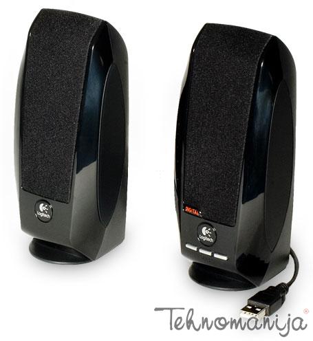 Logitech zvučnici za kompjuter S 150 CRNI