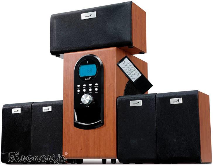 GENIUS Zvučnici za kompjuter HF 5 1 6000