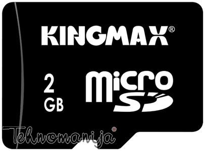 KINGMAX Memorijska kartica MICRO SD 2GB