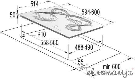 Gorenje ugradna ploča ECT680KR