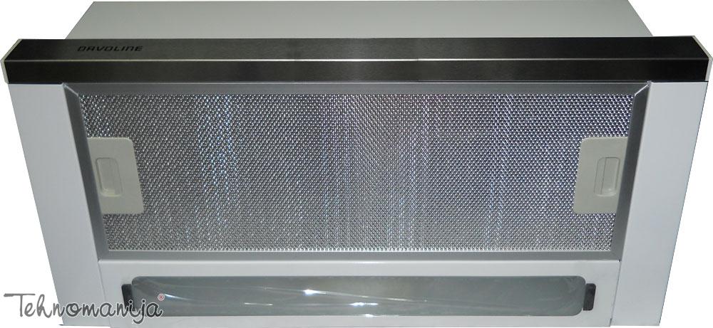 DAVOLINE Aspirator H1 MGA Metalic Inox