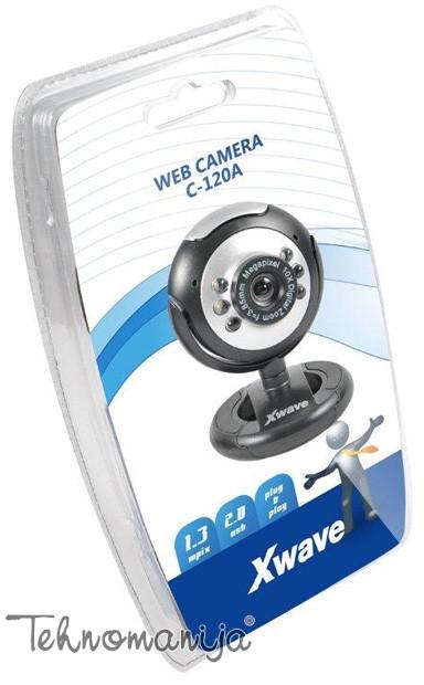 X WAVE Web kamera C-120A