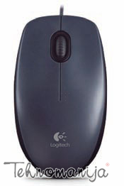 LOGITECH Žični miš M90 SILVER