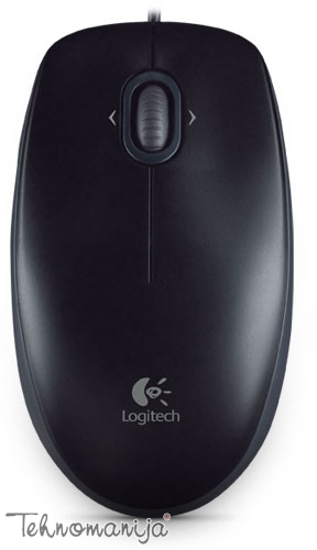 Logitech optički miš M100 BLACK