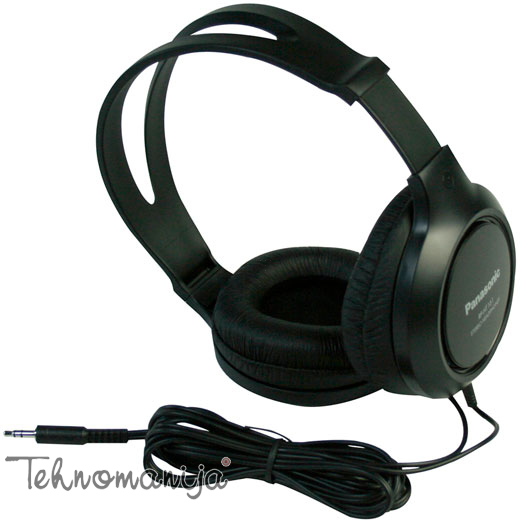 PANASONIC Slušalice RP HT161E K