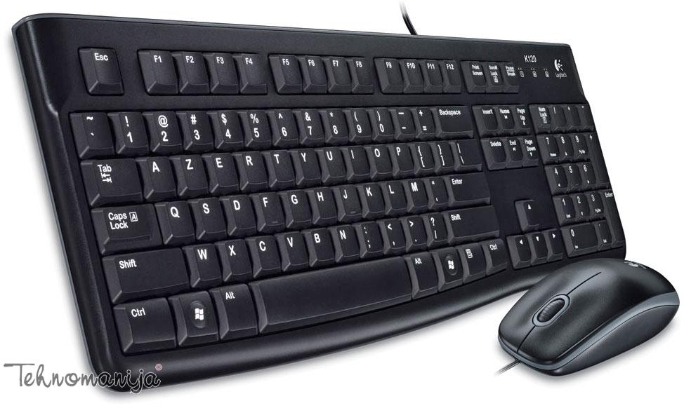 LOGITECH Tastatura sa mišem MK120 YU