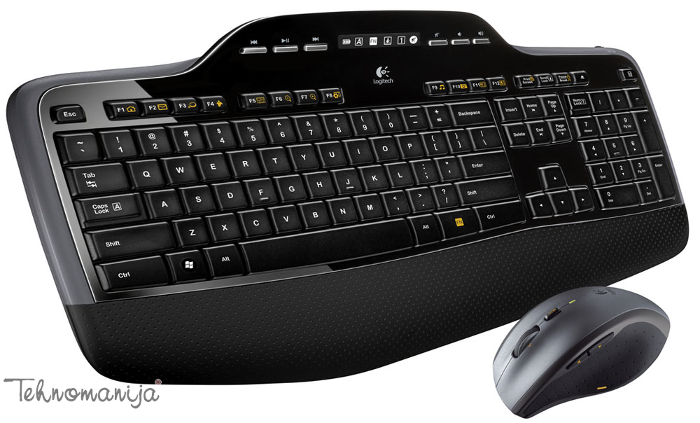 Logitech bežična tastatura i miš MK710 US