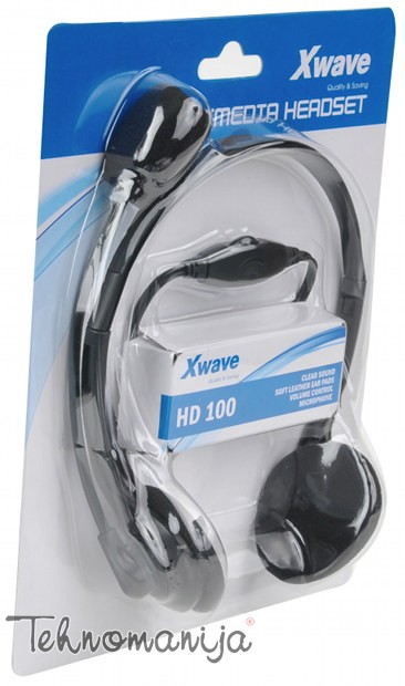 X WAVE Slušalice HD100