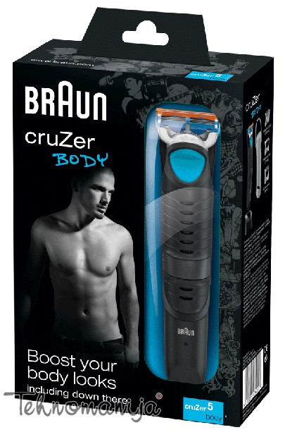 Braun trimer za telo CRUZ 5 BODY