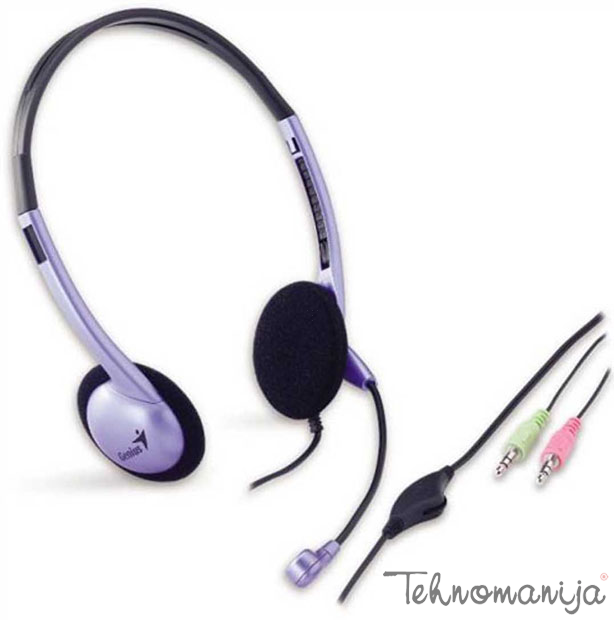Genius slušalice sa mikrofonom HS-02B
