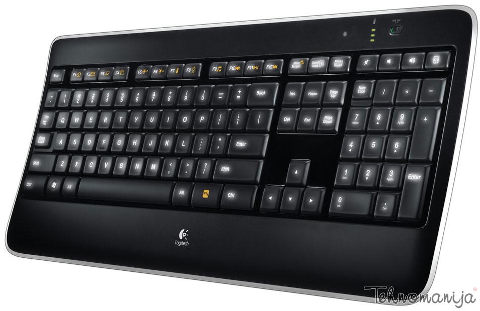 Logitech bežična tastatura K 800
