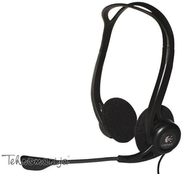 Logitech slušalice sa mikrofonom PC 960